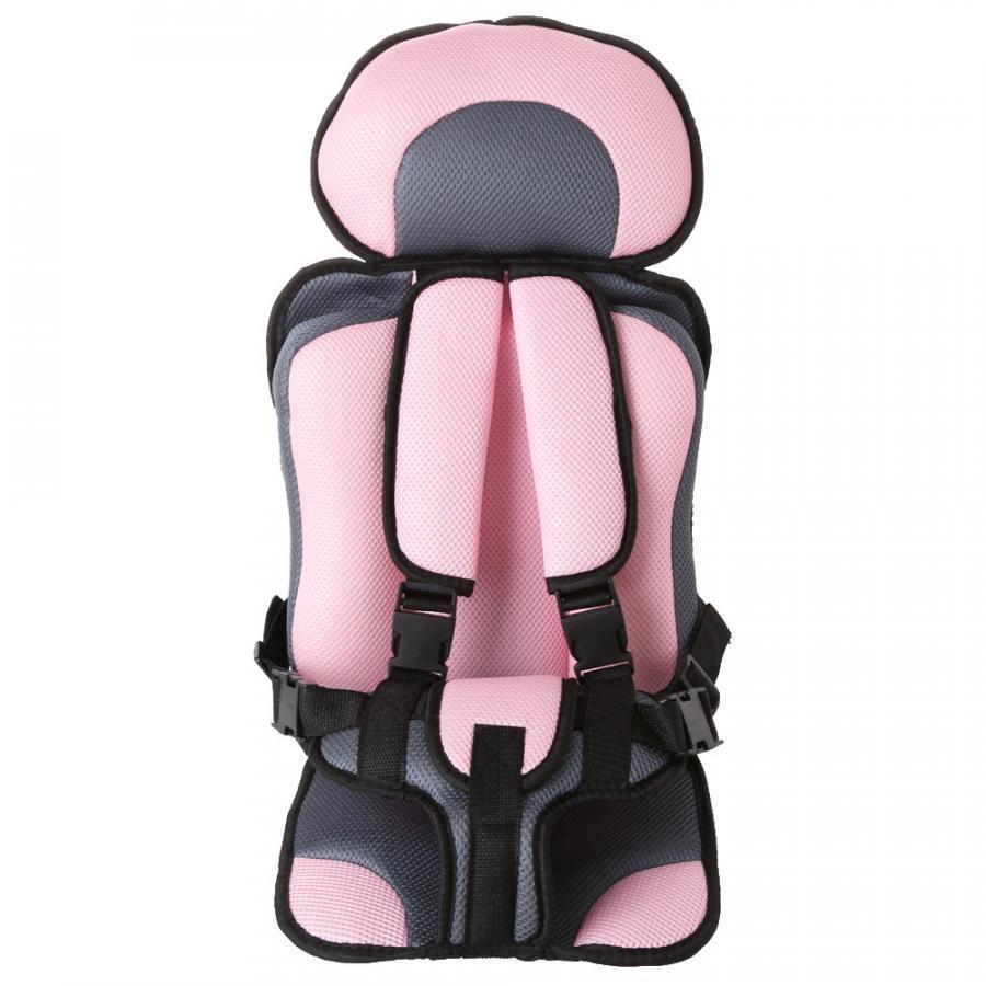 Ghế ngồi ô tô giữ bé trên xe hơi - Màu hồng phấn - 995211 , 6582918540952 , 62_2665951 , 490000 , Ghe-ngoi-o-to-giu-be-tren-xe-hoi-Mau-hong-phan-62_2665951 , tiki.vn , Ghế ngồi ô tô giữ bé trên xe hơi - Màu hồng phấn