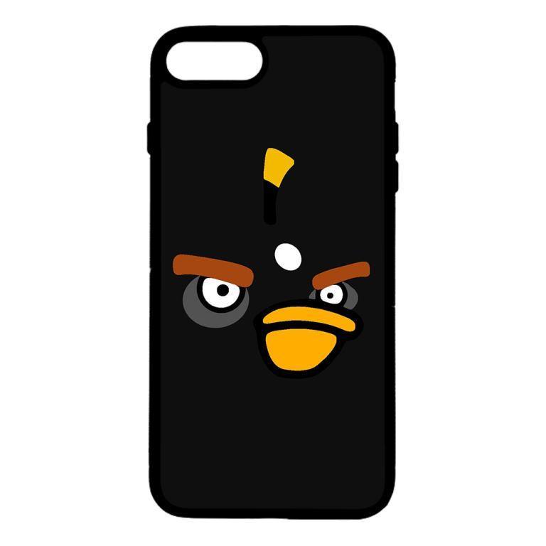 Ốp lưng dành cho điện thoại Iphone 7 Plus Angry Đen