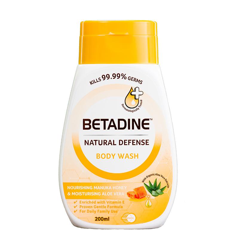 Sữa tắm kháng khuẩn Betadine hương mật ong Manuka chai 200ml - 1887063 , 8904546994385 , 62_14453977 , 49500 , Sua-tam-khang-khuan-Betadine-huong-mat-ong-Manuka-chai-200ml-62_14453977 , tiki.vn , Sữa tắm kháng khuẩn Betadine hương mật ong Manuka chai 200ml