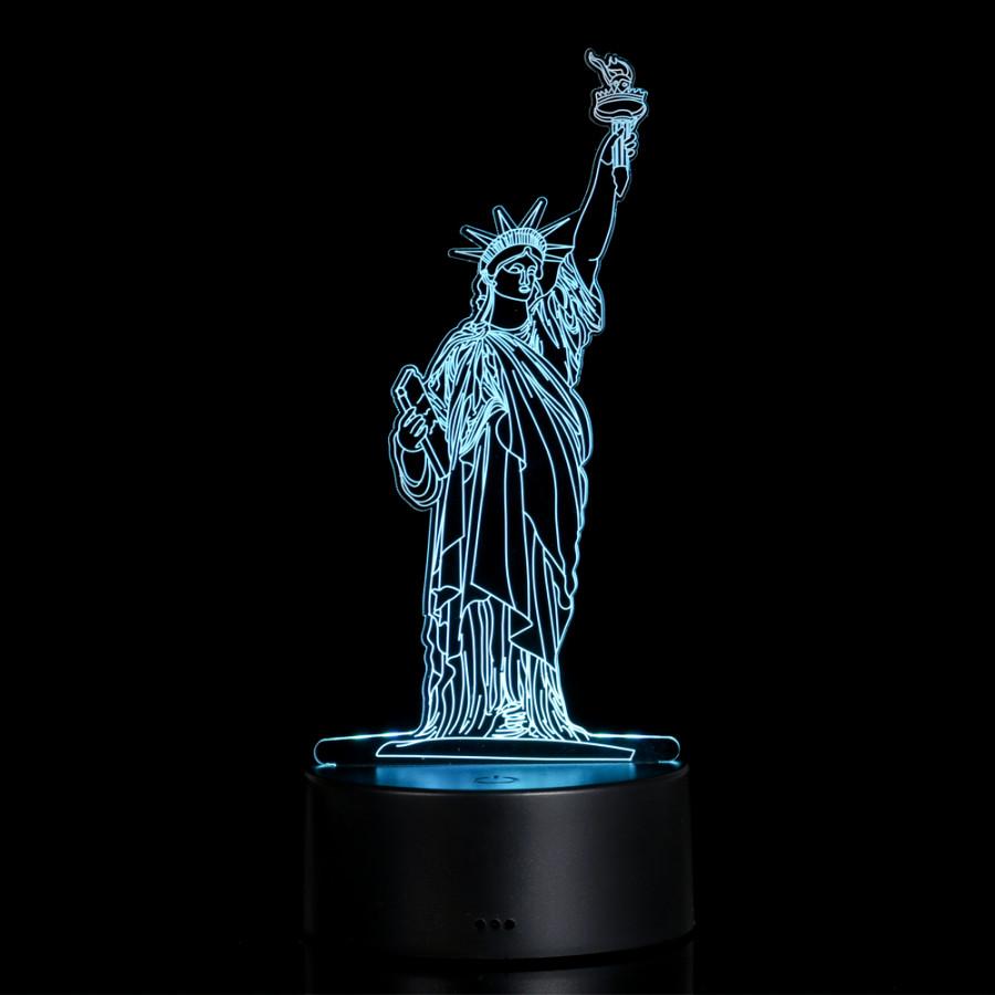 3D Visual Illusion Lamp Transparent Acrylic Night Light 7 Color Changing LED Lamp #1 - 2162830 , 3952200942116 , 62_13836456 , 377000 , 3D-Visual-Illusion-Lamp-Transparent-Acrylic-Night-Light-7-Color-Changing-LED-Lamp-1-62_13836456 , tiki.vn , 3D Visual Illusion Lamp Transparent Acrylic Night Light 7 Color Changing LED Lamp #1