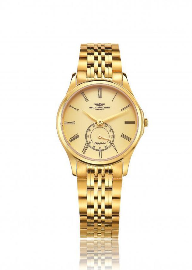 Đồng hồ Nữ dây kim loại Sunrise SL1121.1407