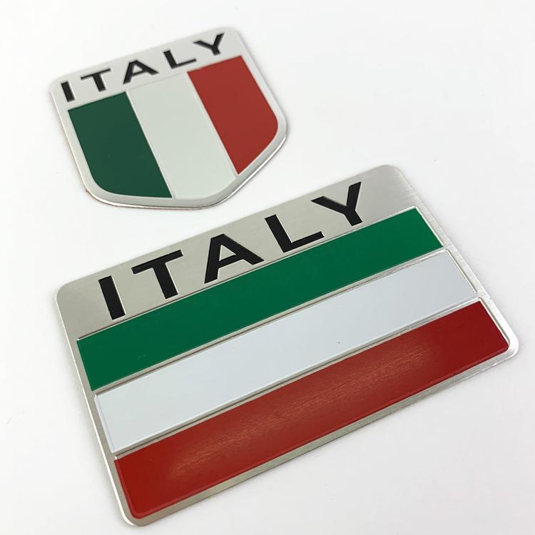 Bộ 2 tem kim loại cờ ITALI dán trang trí ô tô, xe máy - 4814360 , 5899755979038 , 62_15173075 , 145000 , Bo-2-tem-kim-loai-co-ITALI-dan-trang-tri-o-to-xe-may-62_15173075 , tiki.vn , Bộ 2 tem kim loại cờ ITALI dán trang trí ô tô, xe máy