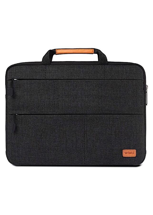 Túi chống sốc MacBook và Laptop 13 inch hiệu Gearmax Wiwu Smart Stand 2 trong 1