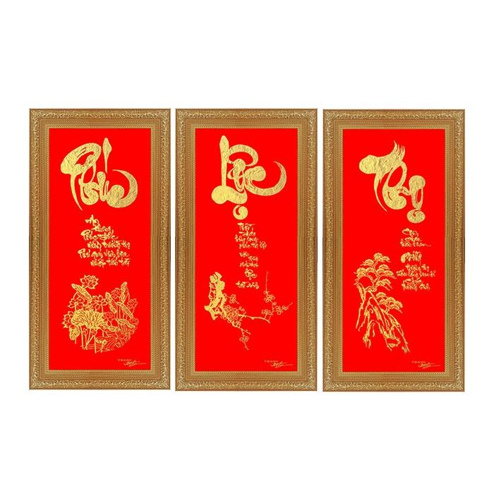 Tranh Trang Trí Tường Phúc Lộc Thọ
