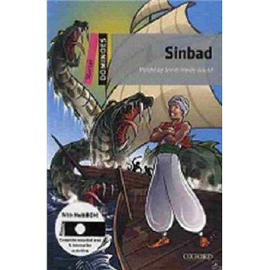 Dominoes Second Edition Starter: Sinbad (Book+CD) - 1236620 , 5725739519399 , 62_5267005 , 387000 , Dominoes-Second-Edition-Starter-Sinbad-BookCD-62_5267005 , tiki.vn , Dominoes Second Edition Starter: Sinbad (Book+CD)