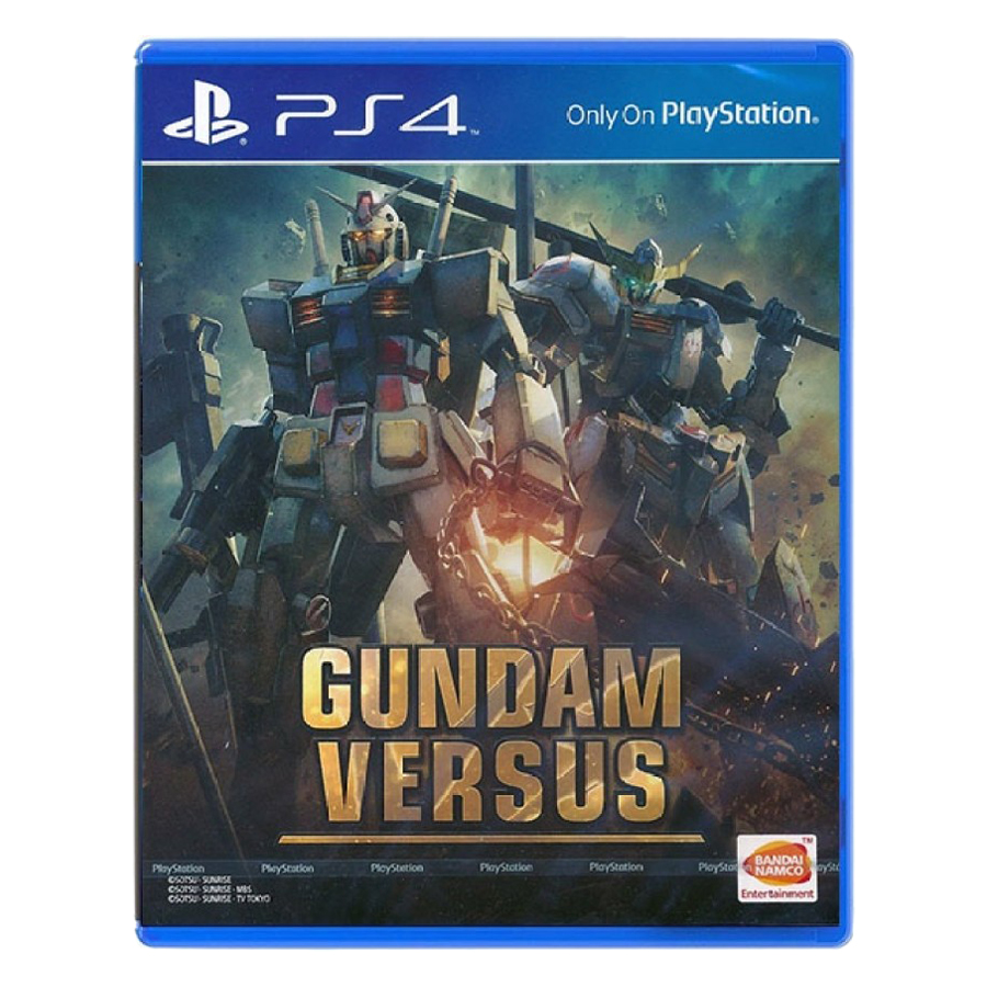 Đĩa Game PlayStation PS4 Sony Gundam Versus Hệ Asia - Hàng Chính Hãng