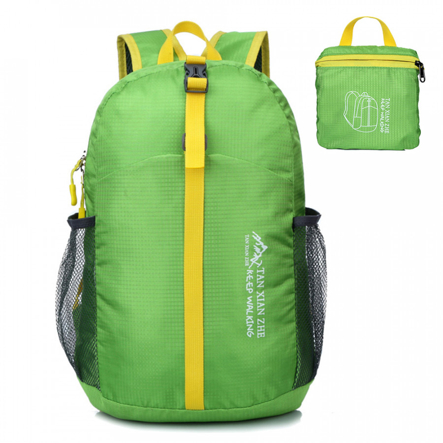 Lightweight Packable Backpack Folding Travel Daypack Bag Outdoor Camping Hiking Cycling