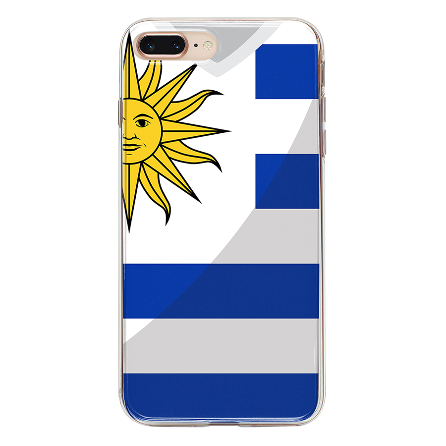 Ốp Lưng Mika Cho iPhone 7 Plus / 8 Plus URUGUAY-C-IP7P