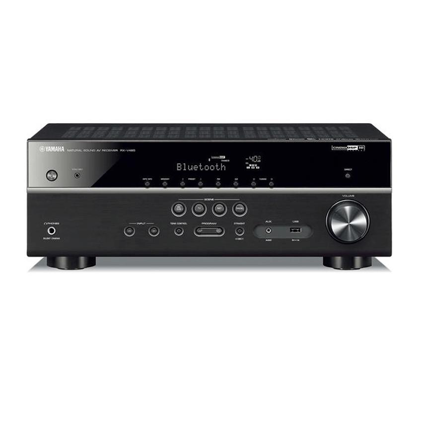 Amply Yamaha RX-V485 (Black) - Hàng Chính Hãng