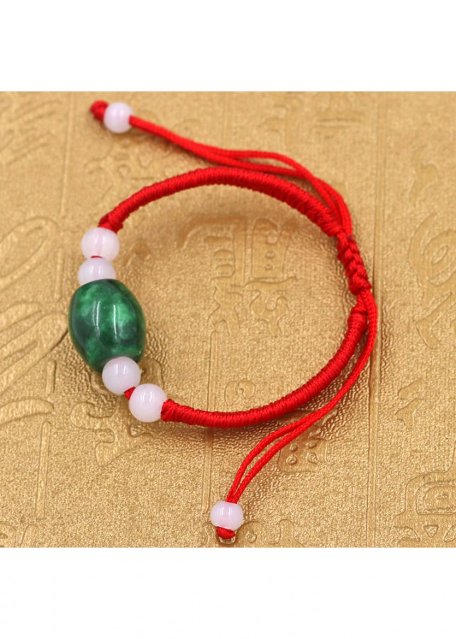 Vòng đeo tay tết dây đá cẩm thạch TD2 - Vòng tay chỉ đỏ may mắn - 1513848 , 4307380910032 , 62_14142340 , 180000 , Vong-deo-tay-tet-day-da-cam-thach-TD2-Vong-tay-chi-do-may-man-62_14142340 , tiki.vn , Vòng đeo tay tết dây đá cẩm thạch TD2 - Vòng tay chỉ đỏ may mắn