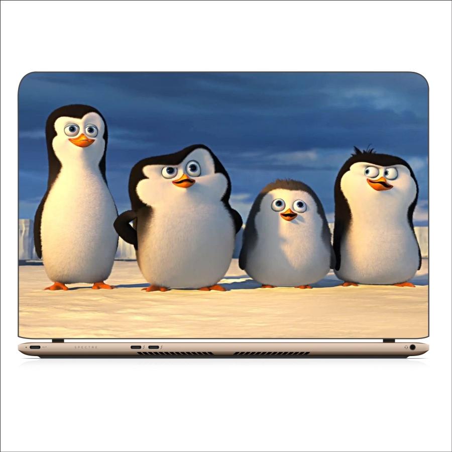 Miếng Dán Skin In Decal Dành Cho Laptop - Chim cánh cụt 1 - Mã: 071118