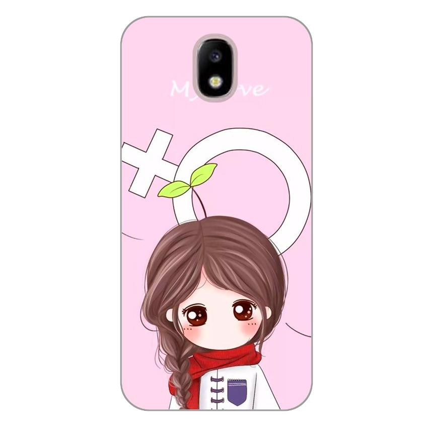 Ốp lưng dẻo cho Samsung Galaxy J3 Pro_Couple Girl 06