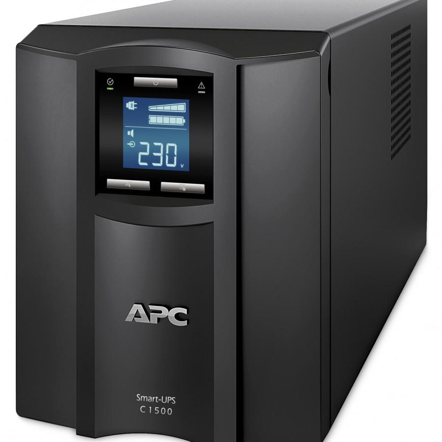 Bộ lưu điện:  Smart-UPS C 1500VA LCD 230V - SMC1500I - Tặng kèm một ổ cắm điện chống sét