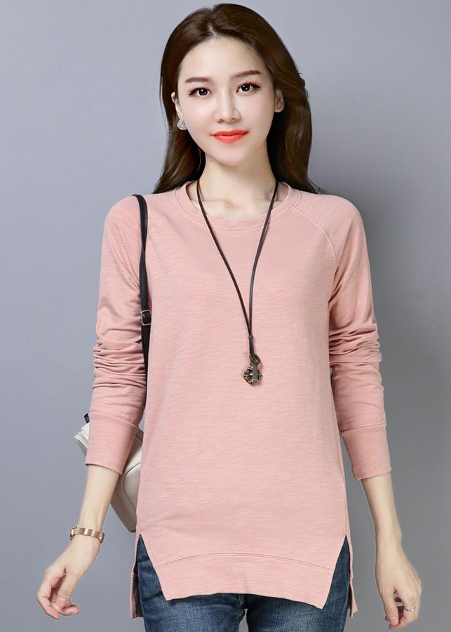 Áo thun nữ phôm dài thời trang thiết kế vạt áo xẻ dài độc đáo 102 - 9909372 , 7115607845060 , 62_19776386 , 408000 , Ao-thun-nu-phom-dai-thoi-trang-thiet-ke-vat-ao-xe-dai-doc-dao-102-62_19776386 , tiki.vn , Áo thun nữ phôm dài thời trang thiết kế vạt áo xẻ dài độc đáo 102