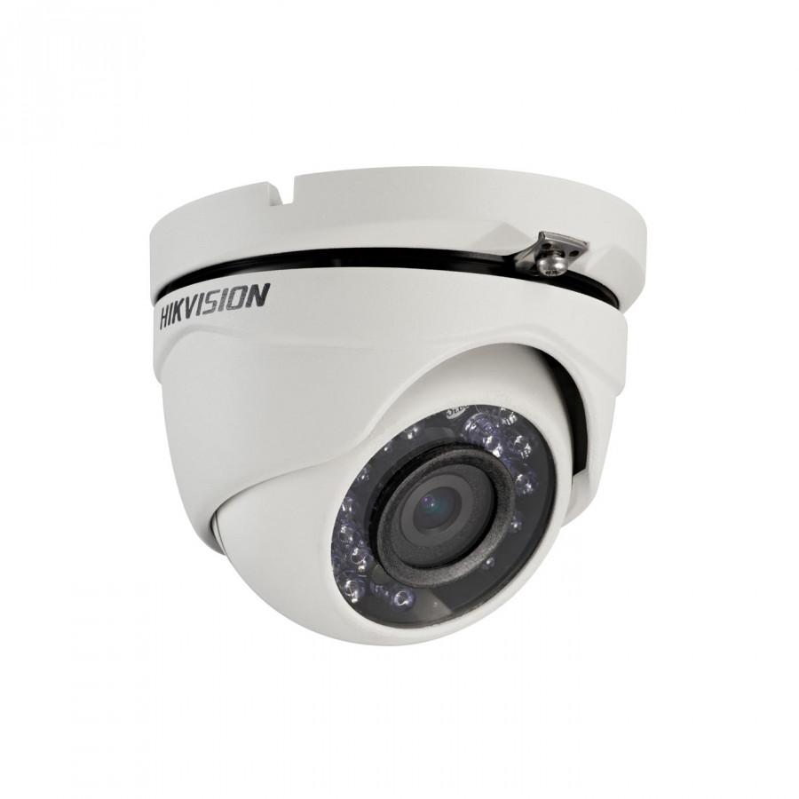 Camera HD-TVI bán cầu hồng ngoại 20m ngoài trời 2MP Hikvision DS-2CE56D0T-IRM
