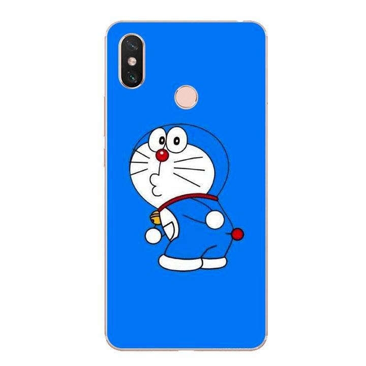 Ốp lưng dẻo cho điện thoại Xiaomi Mi Max 3 - Doremon 01
