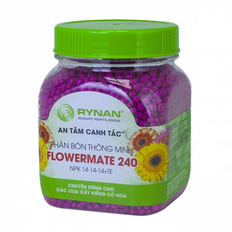 Phân Bón Rynan Flowermate 240 (Hủ) - Phân Bón Thông Minh Phân Giải Chậm - Dùng cho Các Loại Hoa Kiểng, Phong Lan