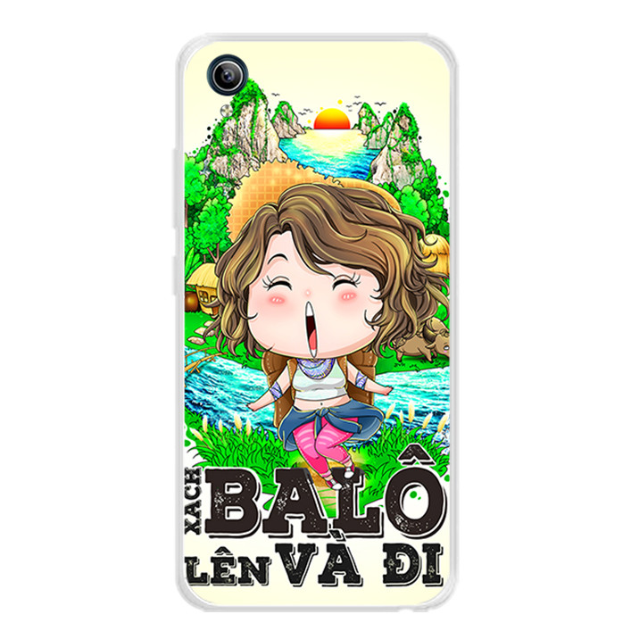 Ốp lưng dẻo cho điện thoại Vivo Y91C - 0310 GOGO01 - Hàng Chính Hãng