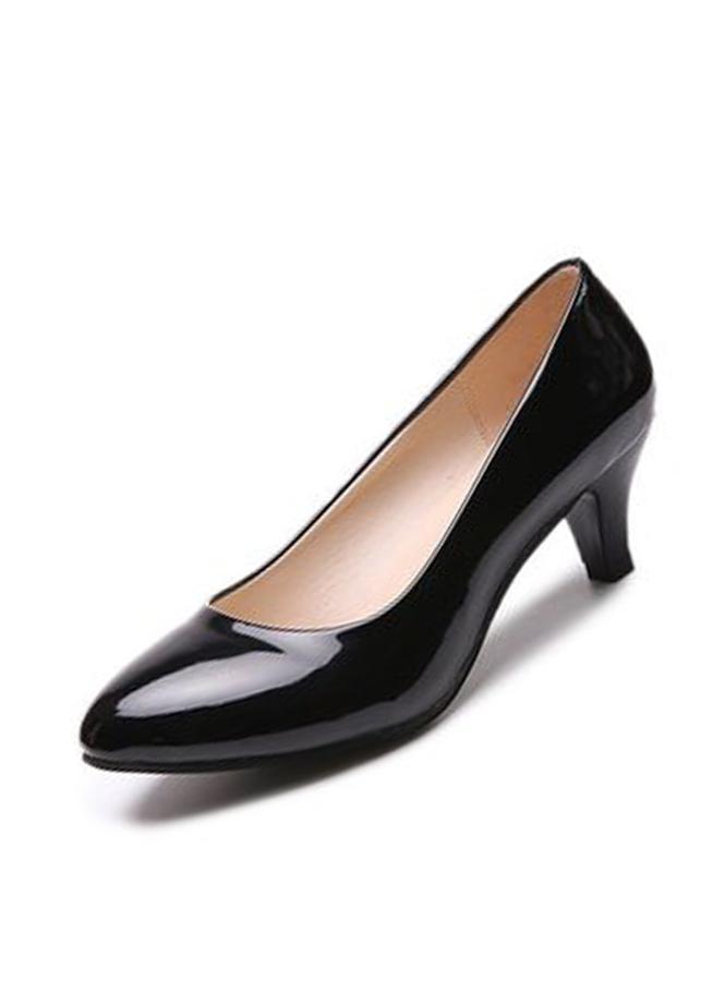Giày gót thấp nữ đáng yêu 169