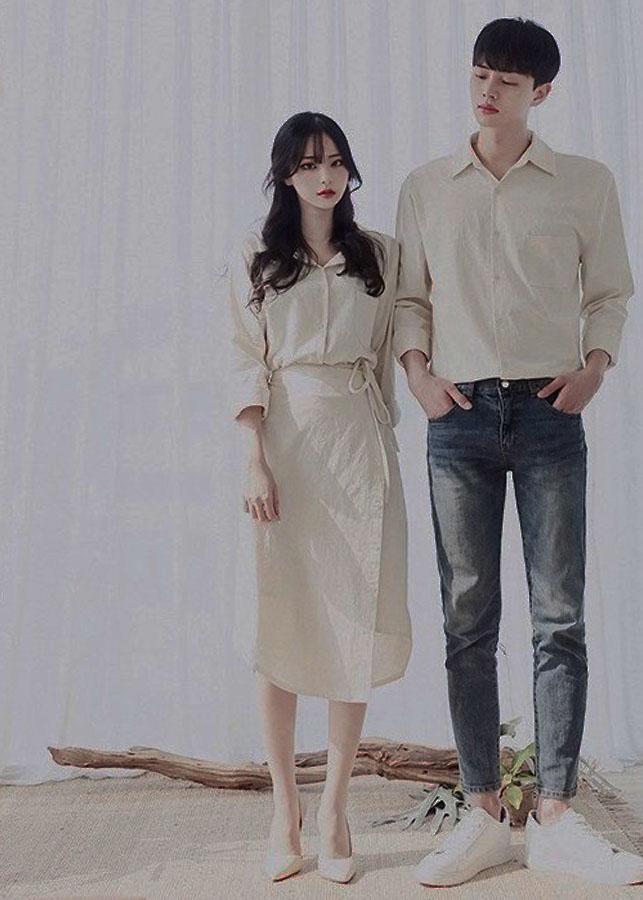 áo váy đôi sơ mi cặp nam nữ dáng dài màu trắng ngà AV12 - 9799280 , 8323710369574 , 62_17047199 , 500000 , ao-vay-doi-so-mi-cap-nam-nu-dang-dai-mau-trang-nga-AV12-62_17047199 , tiki.vn , áo váy đôi sơ mi cặp nam nữ dáng dài màu trắng ngà AV12