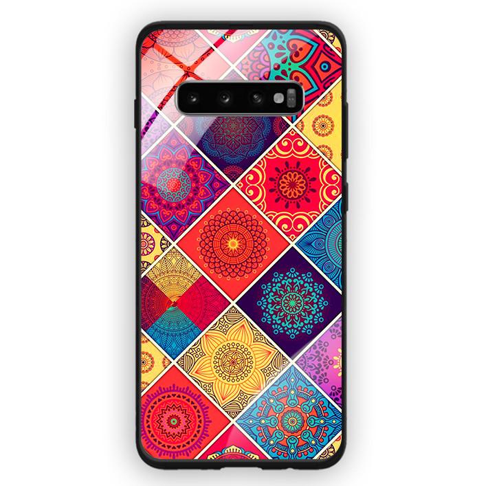 Ốp Lưng Kính Cường Lực Cho Điện Thoại Samsung Galaxy S10 Plus - 391 0075 THOCAM04 - Hàng Chính Hãng