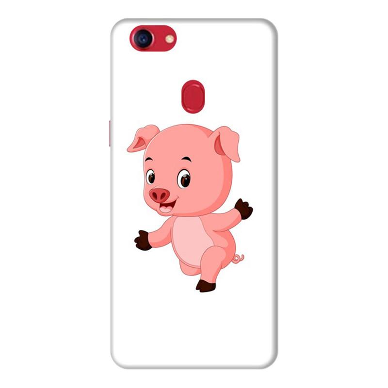Ốp Lưng Dành Cho Điện Thoai Oppo F7 Pig Pig - Mẫu 4