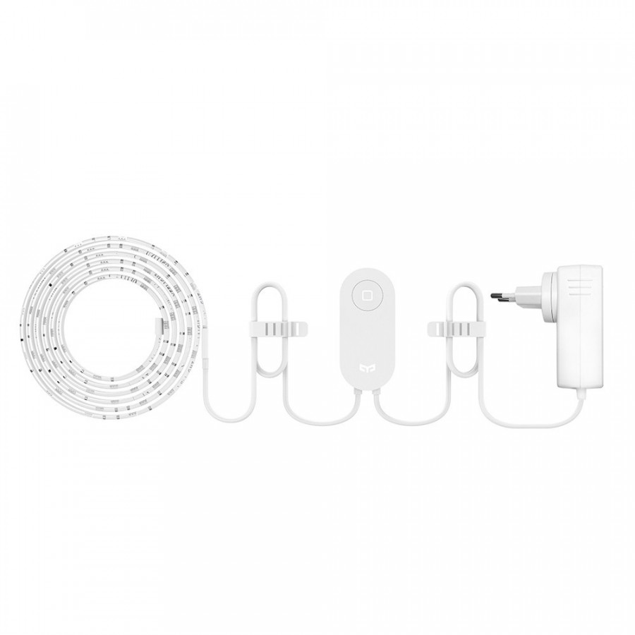Yeelight WIFI Connected RGB Intelligent Strip Light (ONLY for the Use of extending YLDD04YL Version) 1 Meters AC100-240V