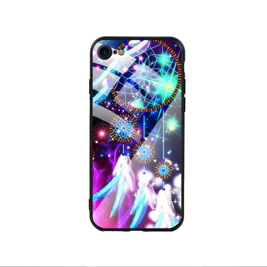Ốp lưng kính cường lực cho điện thoại Iphone 7/8 - Dreamcatcher