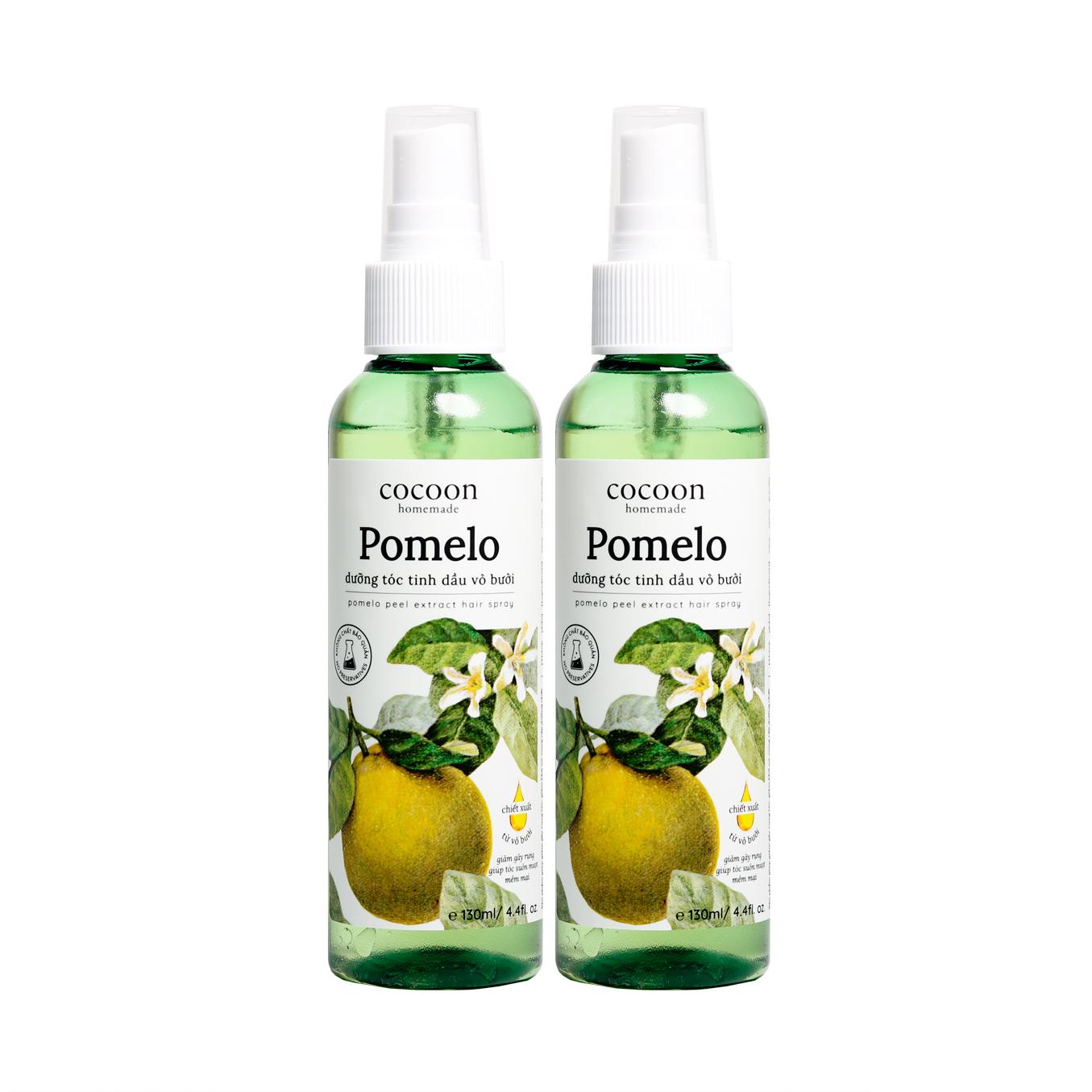 Combo 2 Pomelo xịt dưỡng tóc tinh dầu vỏ bưởi cocoon (130ml/chai) - 930564 , 1353049975044 , 62_10580105 , 230000 , Combo-2-Pomelo-xit-duong-toc-tinh-dau-vo-buoi-cocoon-130ml-chai-62_10580105 , tiki.vn , Combo 2 Pomelo xịt dưỡng tóc tinh dầu vỏ bưởi cocoon (130ml/chai)