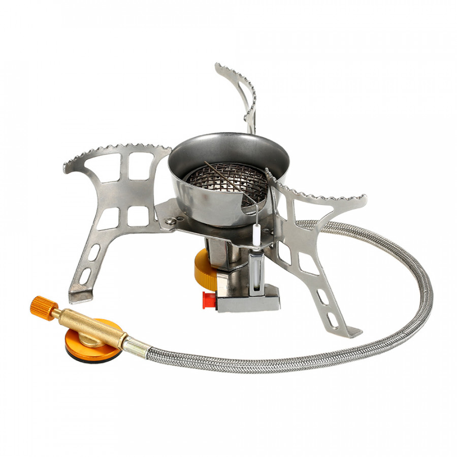 Lixada Portable Windproof Camping Gas Stove with Piezo Ignition Lightweight Folding Outdoor Backpacking Cooking Camp - 1466913 , 7134283721499 , 62_14332251 , 471000 , Lixada-Portable-Windproof-Camping-Gas-Stove-with-Piezo-Ignition-Lightweight-Folding-Outdoor-Backpacking-Cooking-Camp-62_14332251 , tiki.vn , Lixada Portable Windproof Camping Gas Stove with Piezo Ignit