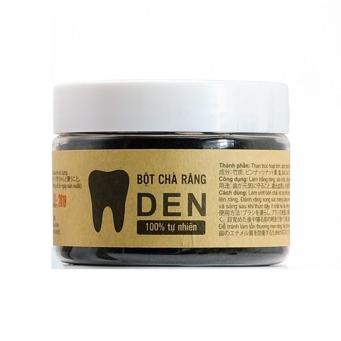 Bột chà răng Răng Đen - Sạch cao răng, hết ố vàng làm răng trắng sáng - 100% thành phần từ thiên nhiên