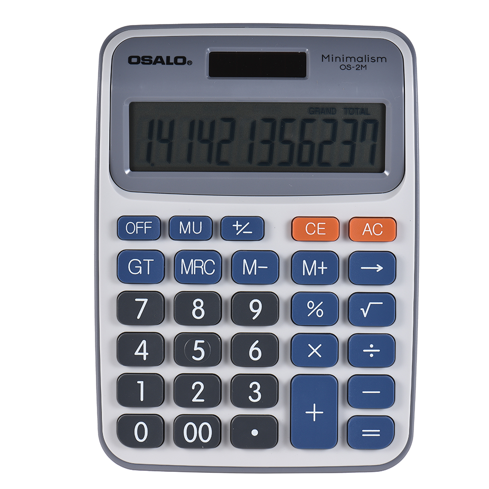 Standard Function Desktop Electronic Calculator 12 Digits Large Display Solar and Battery Dual Power Supply for School - 18889561 , 1459337647416 , 62_30785482 , 190000 , Standard-Function-Desktop-Electronic-Calculator-12-Digits-Large-Display-Solar-and-Battery-Dual-Power-Supply-for-School-62_30785482 , tiki.vn , Standard Function Desktop Electronic Calculator 12 Digits