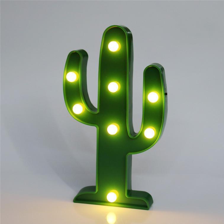 Đèn LED ngủ  Cây xương rồng