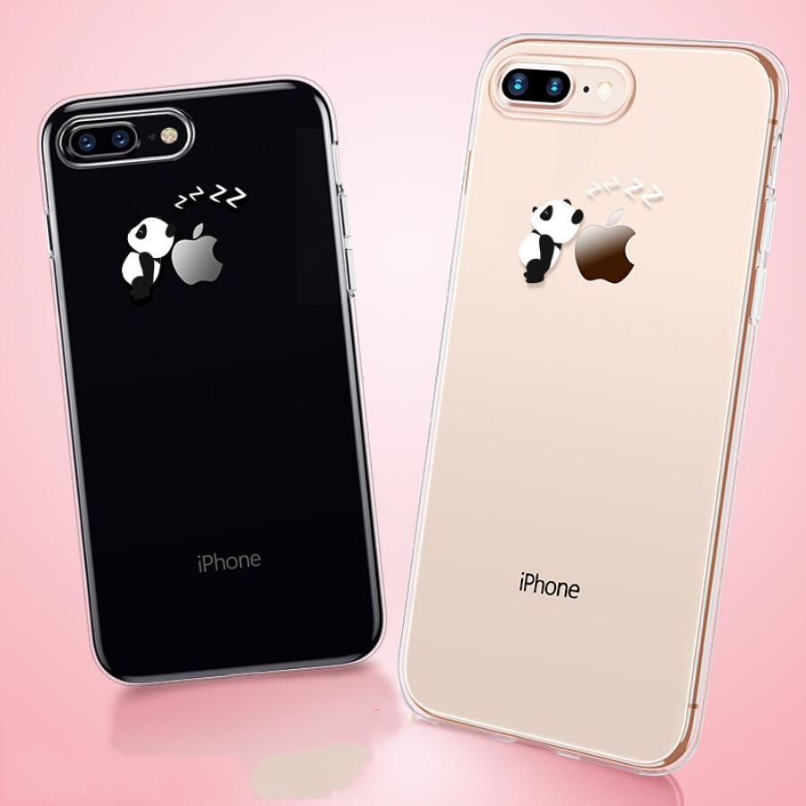 Ốp Lưng Điện Thoại ESR Dành Cho Apple 78 Plus 5.5 Inch Với Lớp Vỏ Silicon Dẻo Chống Rơi Hình Chú Gấu Buồn Ngủ