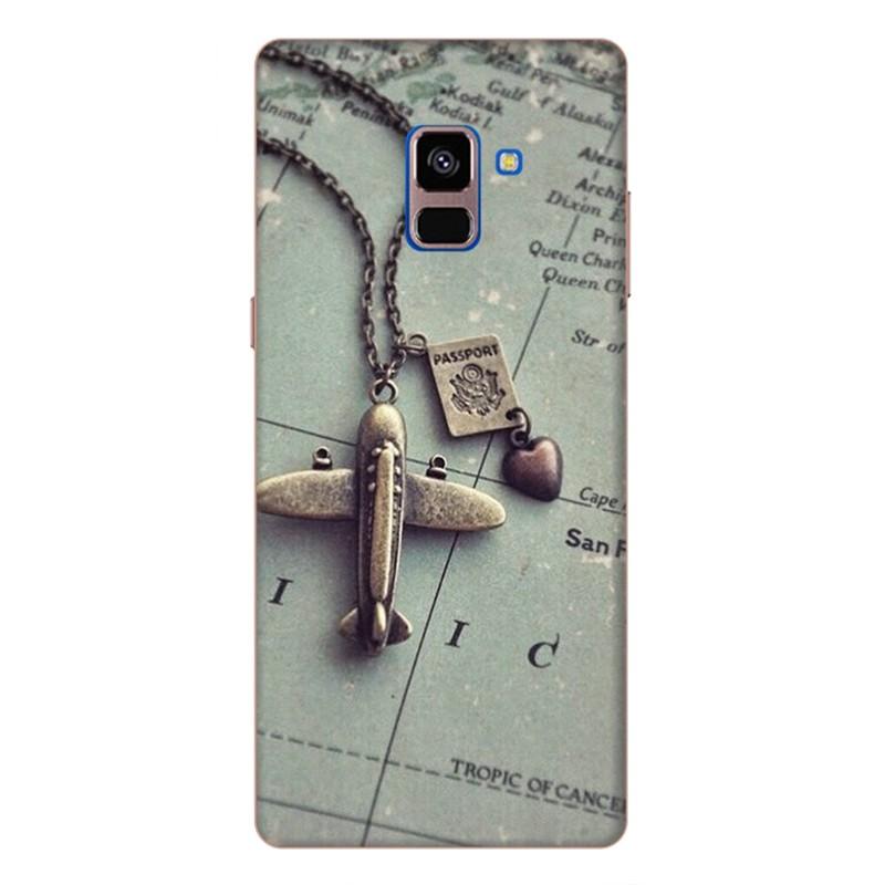 Ốp Lưng Dành Cho Samsung Galaxy A8 Plus - Mẫu 78