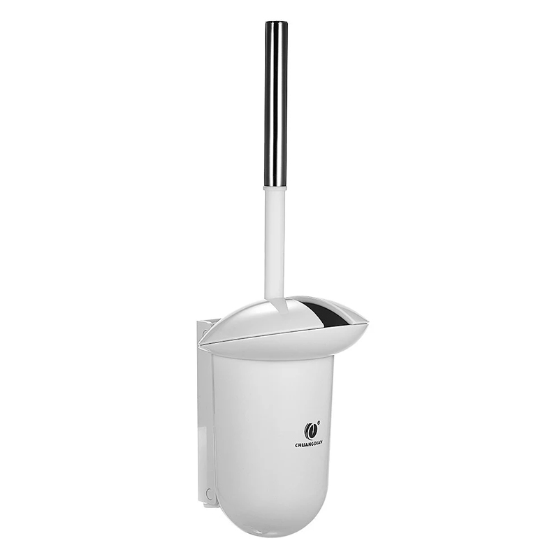 CHUANGDIAN Wall-mounted Hideaway Toilet Brush and Holder Bathroom Toilet Bowl Cleaning Tool - White - 1842682 , 1506304966626 , 62_13892934 , 367000 , CHUANGDIAN-Wall-mounted-Hideaway-Toilet-Brush-and-Holder-Bathroom-Toilet-Bowl-Cleaning-Tool-White-62_13892934 , tiki.vn , CHUANGDIAN Wall-mounted Hideaway Toilet Brush and Holder Bathroom Toilet Bowl C