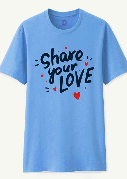 Áo Phông Cặp Đôi Share Your Love - màu xanh cyan - hm189 - 16516922 , 1034379539624 , 62_25589489 , 677000 , Ao-Phong-Cap-Doi-Share-Your-Love-mau-xanh-cyan-hm189-62_25589489 , tiki.vn , Áo Phông Cặp Đôi Share Your Love - màu xanh cyan - hm189