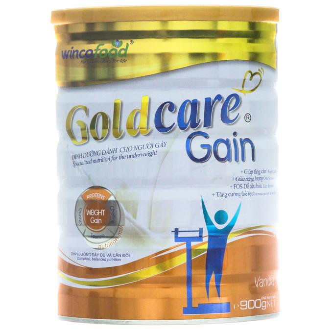 Sữa bột Goldcare Gain dinh dưỡng cho người gầy lon 900g - 1360481 , 7598461452030 , 62_6003015 , 285000 , Sua-bot-Goldcare-Gain-dinh-duong-cho-nguoi-gay-lon-900g-62_6003015 , tiki.vn , Sữa bột Goldcare Gain dinh dưỡng cho người gầy lon 900g