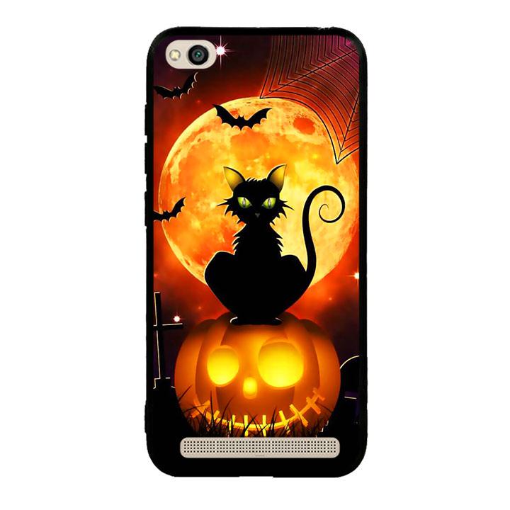 Ốp lưng Halloween viền TPU cho điện thoại Xiaomi Redmi 5A - Mẫu 05
