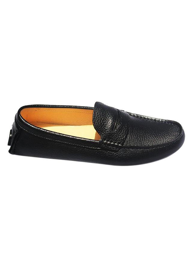 Giày Da Bò Nam MENUP Mã Men -  125 Đen