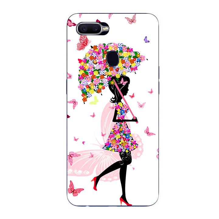 Ốp Lưng Dẻo Cho Điện thoại Oppo F9 - Beautiful Girl