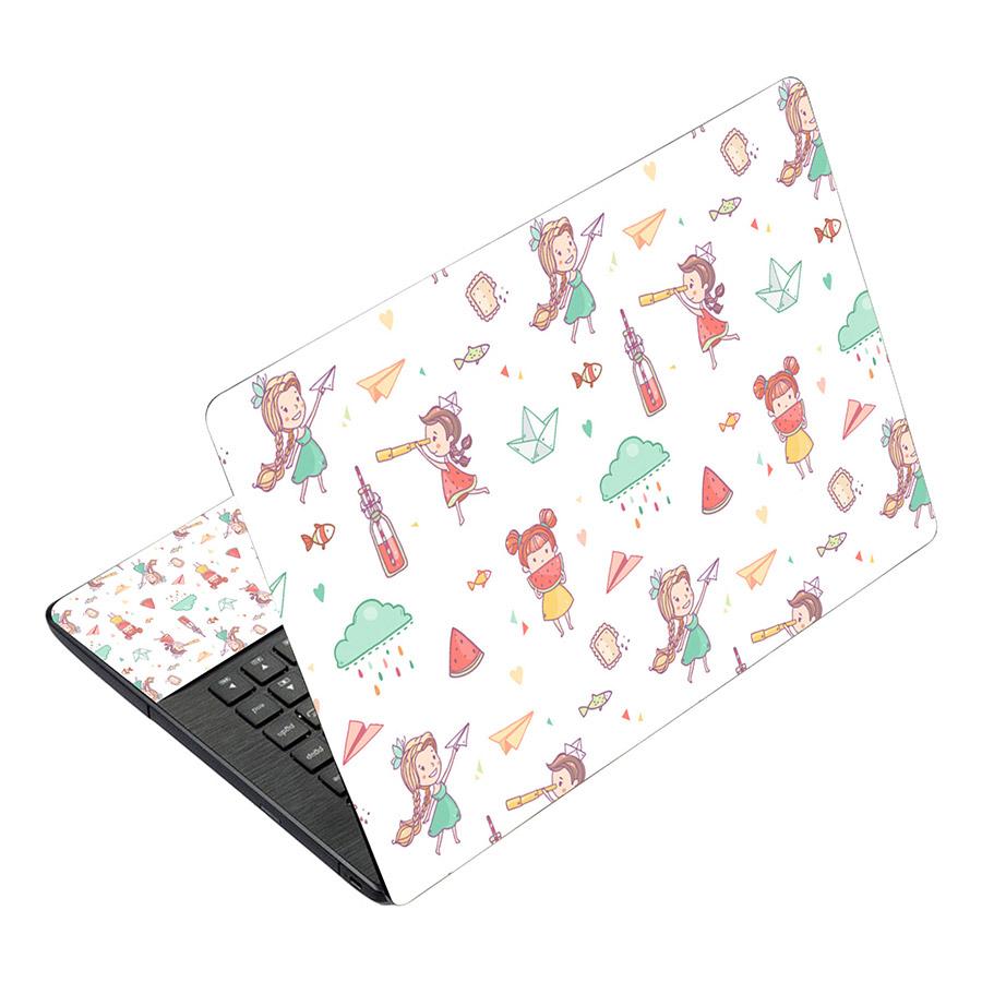 Miếng Dán Decal Dành Cho Laptop Mẫu Nghệ Thuật LTNT-492