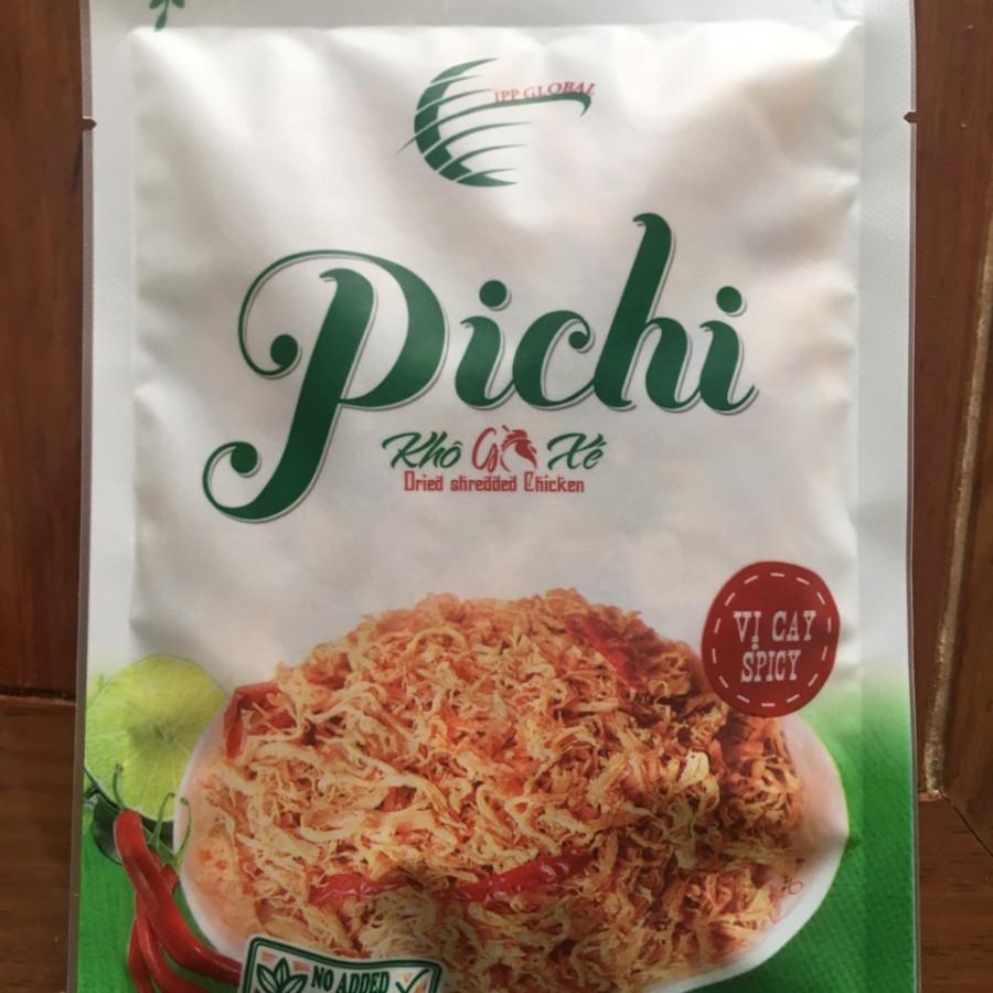 Combo 5 gói khô gà xé vị cay 50g Pichi