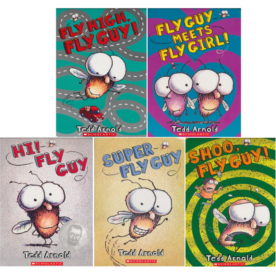 Fly Guy Reader Collection (5 Books) - 1235391 , 9603928804616 , 62_5265233 , 313000 , Fly-Guy-Reader-Collection-5-Books-62_5265233 , tiki.vn , Fly Guy Reader Collection (5 Books)