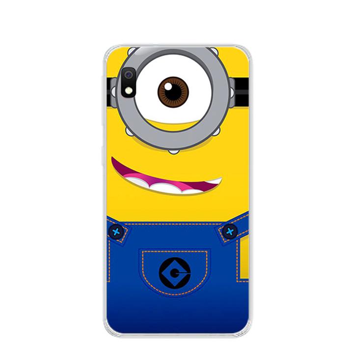 Ốp lưng dẻo cho điện thoại Samsung Galaxy A10 - 0297 MINION01 - Hàng Chính Hãng