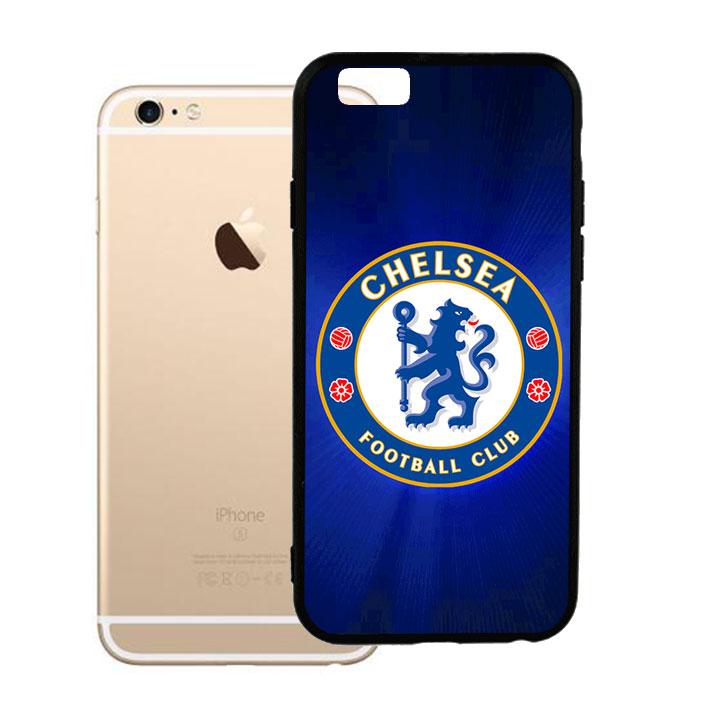 Ốp lưng viền TPU cao cấp dành cho iPhone 6 Plus - Clb Chelsea 02