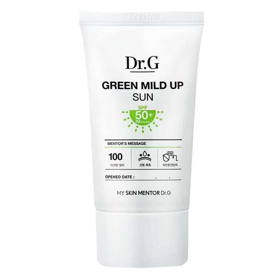 Kem Chống Nắng Dịu Nhẹ Dr.G Green Mild Up Sun Spf50+/Pa++++ MM30 (50ml)