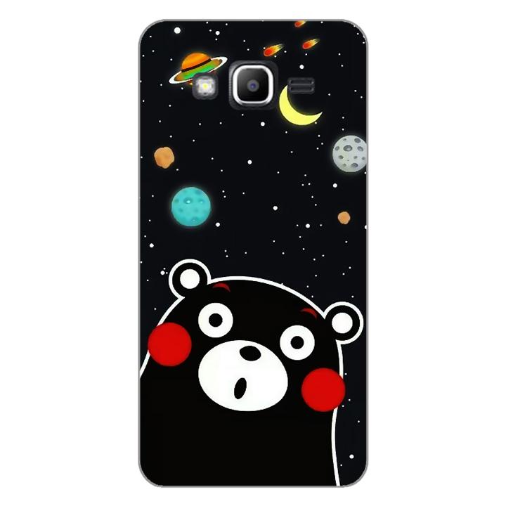 Ốp lưng dẻo Nettacase cho điện thoại Samsung Galaxy J2 Prime _0345 BEAR03 - Hàng Chính Hãng