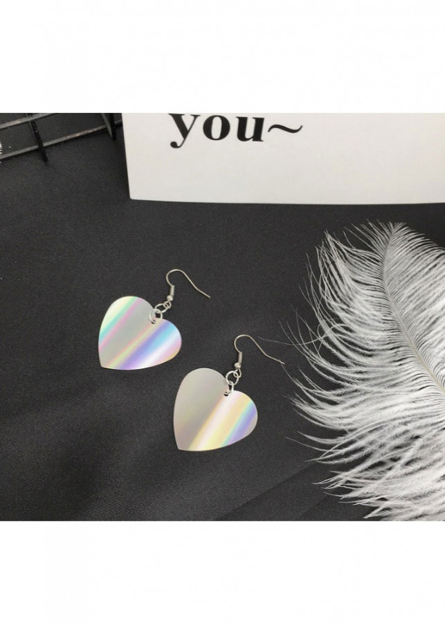 Bông Tai Silver Heart Korea Style Liti - 2025