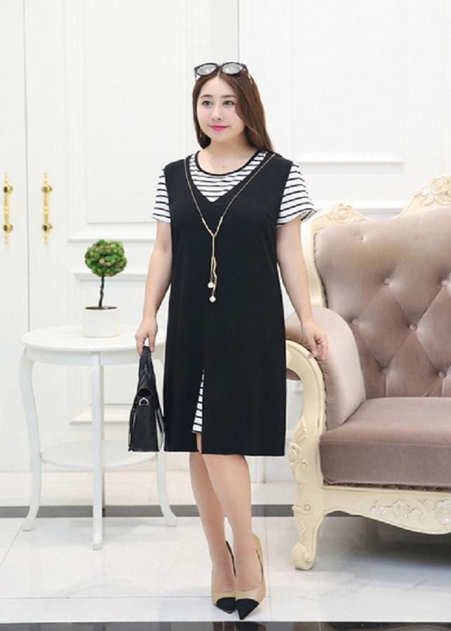 Váy đầm trẻ trung cho người béo mập_TB 563.26
